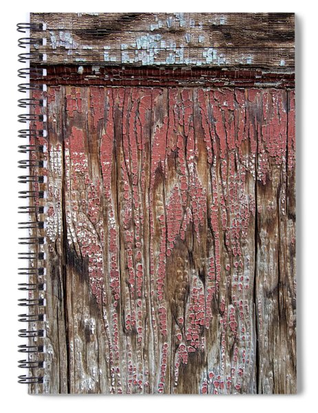 Cracked Paint Spiral Notebook