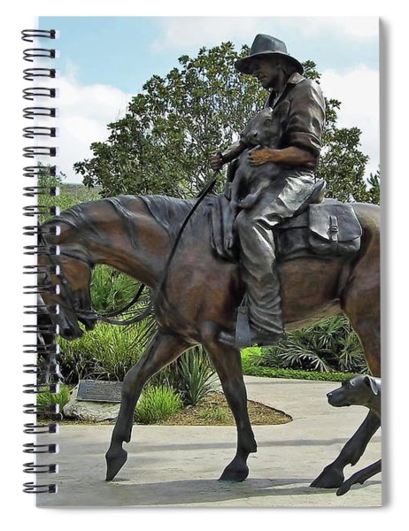 Cracker Cowboy And His Dog Spiral Notebook