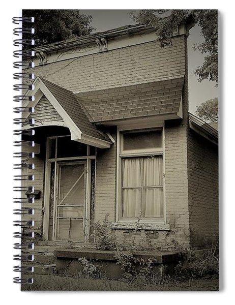 Crackled Spiral Notebook