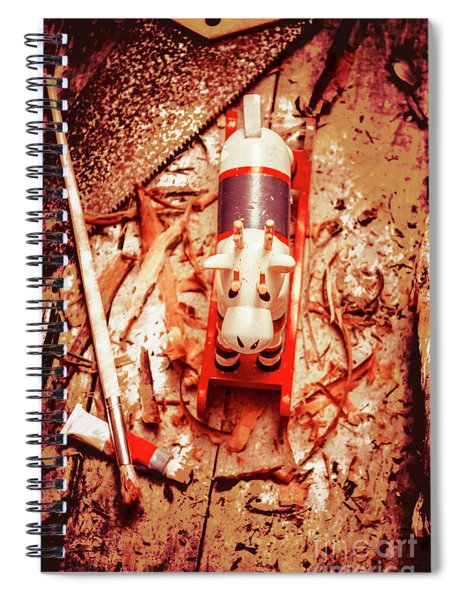 Crafting Christmas Presents Spiral Notebook