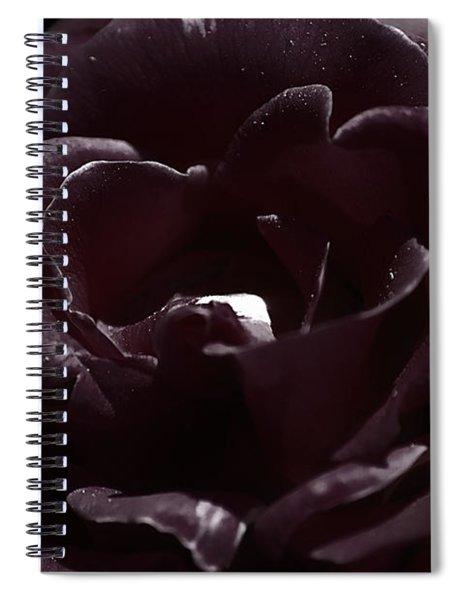 Cranberry Rose Spiral Notebook