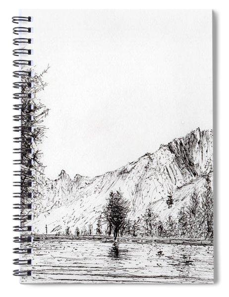 Crans  Switzerland Spiral Notebook