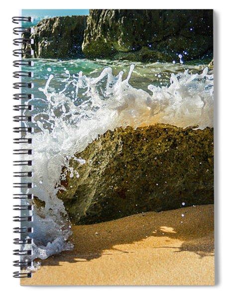 Crashing Over The Rock Spiral Notebook