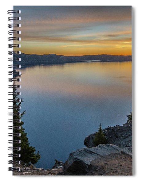 Crater Lake Morning No. 2 Spiral Notebook