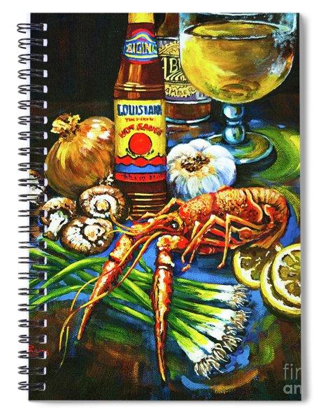 Crawfish Fixin's Spiral Notebook