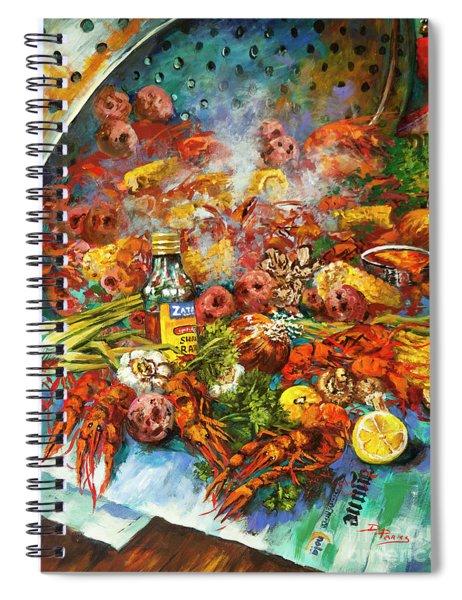 Crawfish Time Spiral Notebook