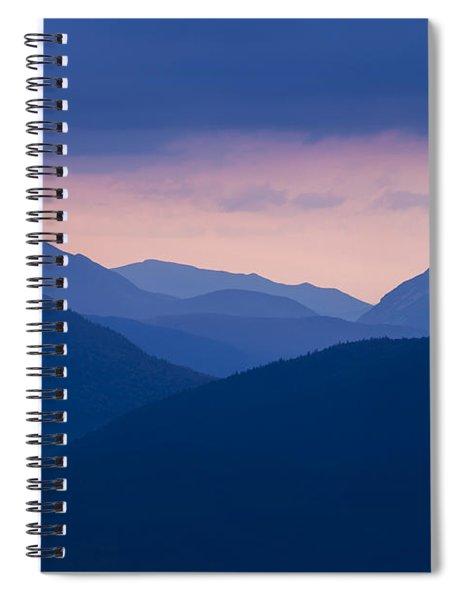 Crawford Notch Silhouette Spiral Notebook