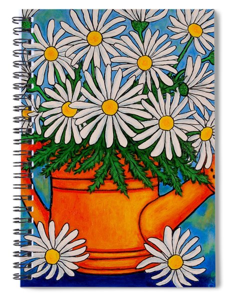 Crazy For Daisies Spiral Notebook