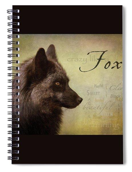 Crazy Like A Fox Spiral Notebook