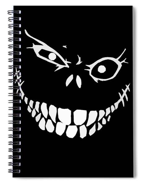 Crazy Monster Grin Spiral Notebook