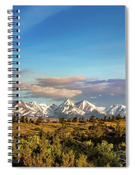 Crazy Mountains Spiral Notebook