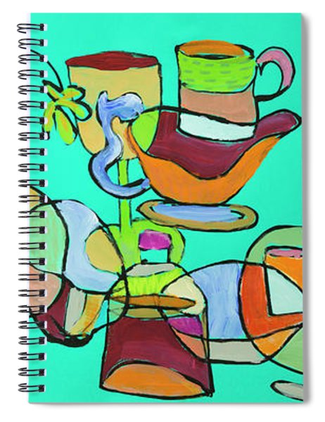Crazy Things Spiral Notebook