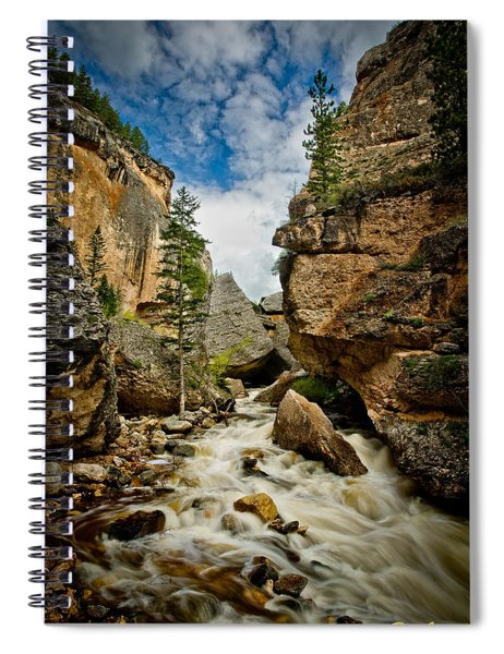 Crazy Woman Canyon Spiral Notebook