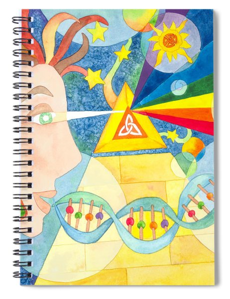 Creation Myth Spiral Notebook