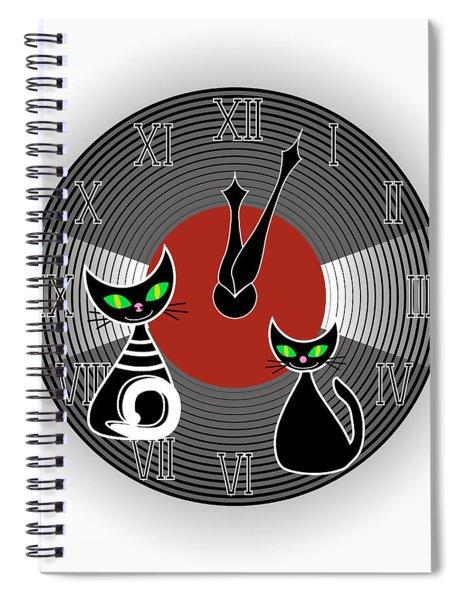 Creative Wall Clock Spiral Notebook