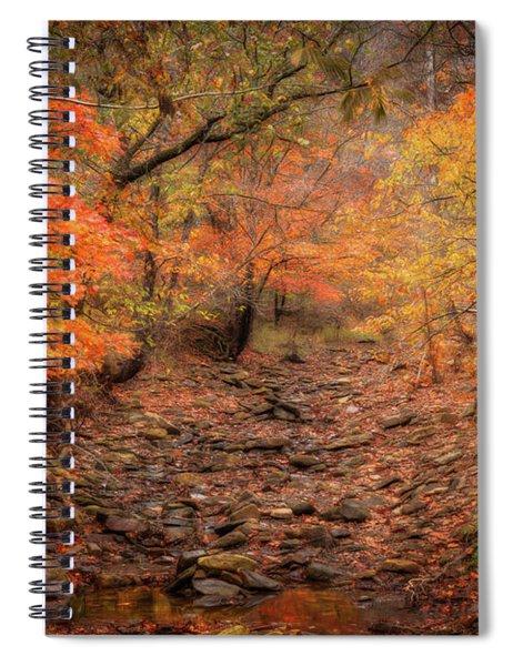 Creek Bottom Color Spiral Notebook
