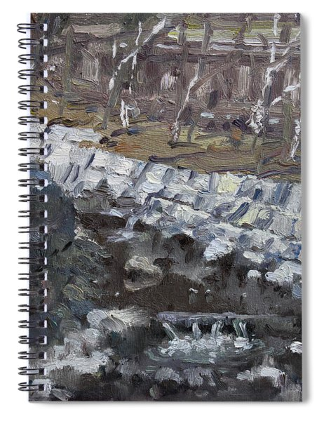 Creek In The Park Spiral Notebook