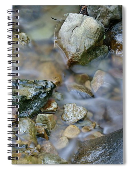Creek On Mt Tamalpais Spiral Notebook