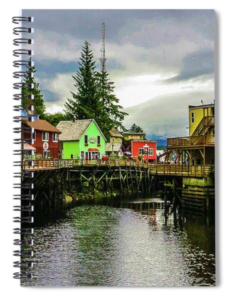 Creek Street 1 Spiral Notebook
