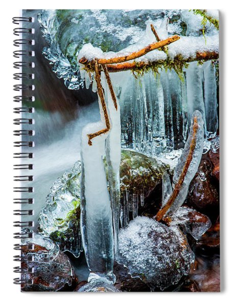 Creekside Icicles Spiral Notebook