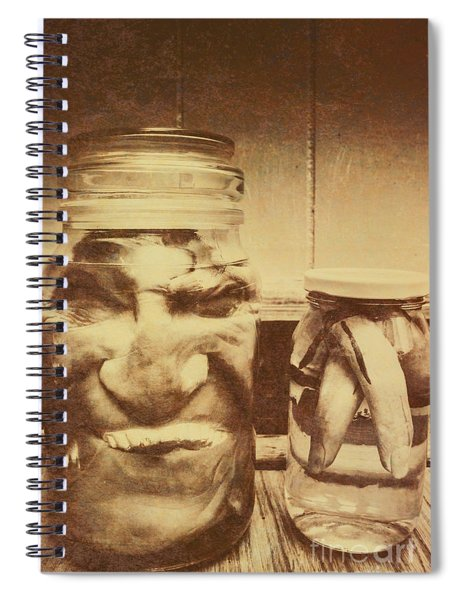 Creepy Halloween Scenes Spiral Notebook