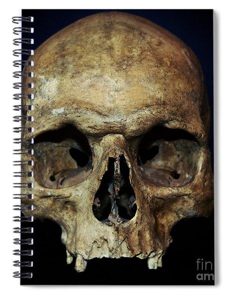 Creepy Skull Spiral Notebook