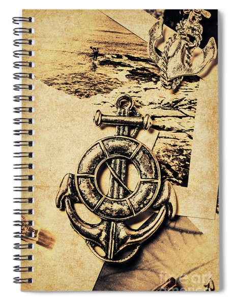 Crest Of Oceanic Adventure Spiral Notebook