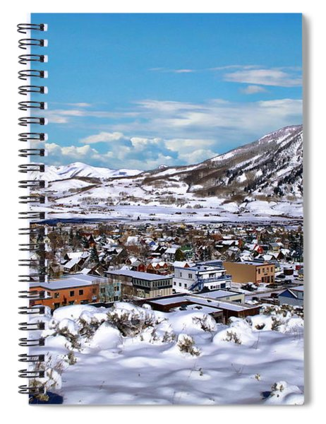 Crested Butte Panorama Spiral Notebook