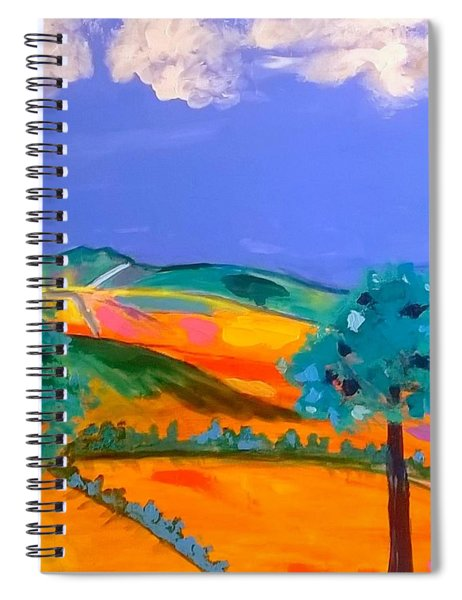 Cribarth The Sleeping Giant Spiral Notebook