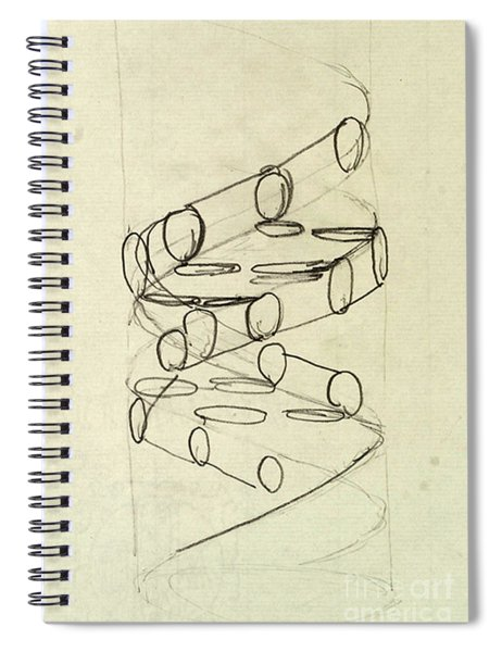 Cricks Original Dna Sketch Spiral Notebook