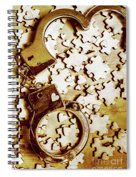 Criminal Affair Spiral Notebook
