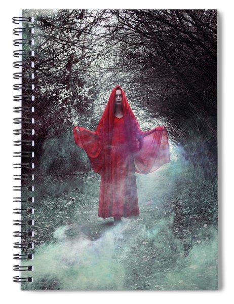 Crimson Prophetess Spiral Notebook