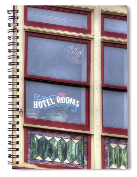 Cripple Creek Hotel Rooms 7880 Spiral Notebook