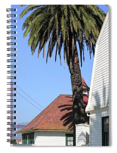 Crissy Field Spiral Notebook