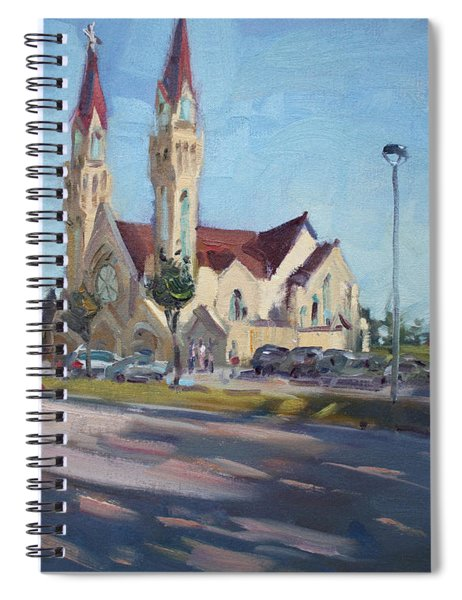 Croatian Centre-the Queen Of Peace Spiral Notebook