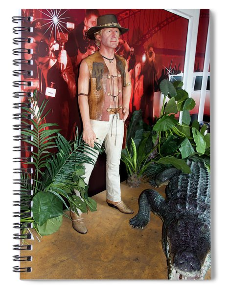 Crocodile Dundee  Spiral Notebook