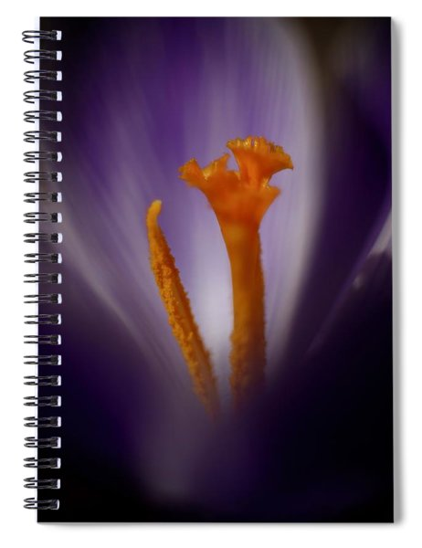 Crocus Detail Spiral Notebook