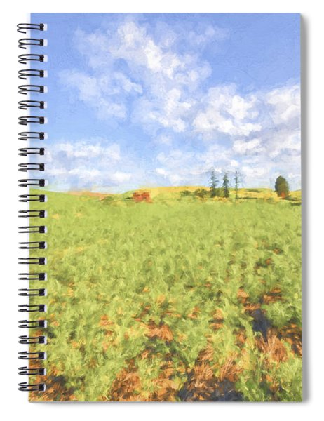 Crops II Spiral Notebook