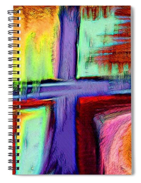 Cross Of Hope Spiral Notebook
