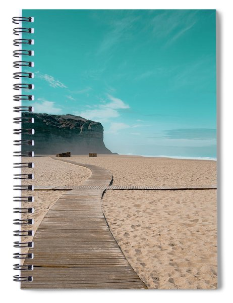 Cross Paths Spiral Notebook