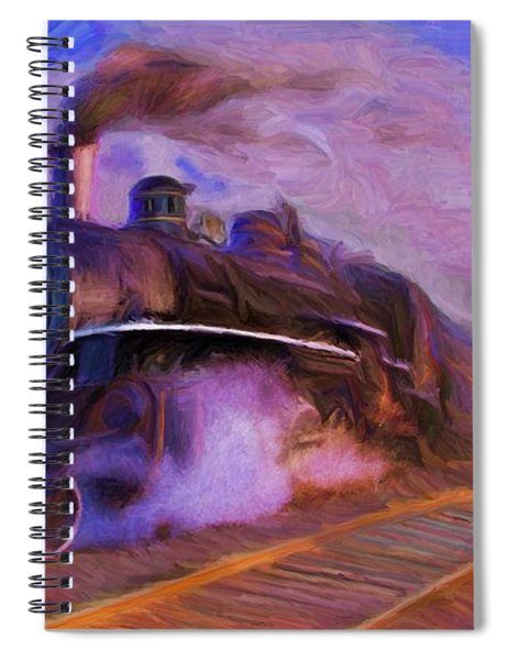 Crossing Rails Spiral Notebook