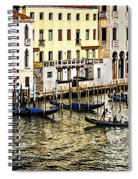 Crossing The Canal Spiral Notebook