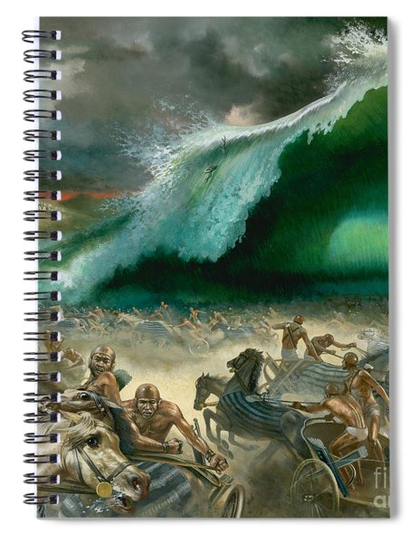 Crossing The Red Sea Spiral Notebook
