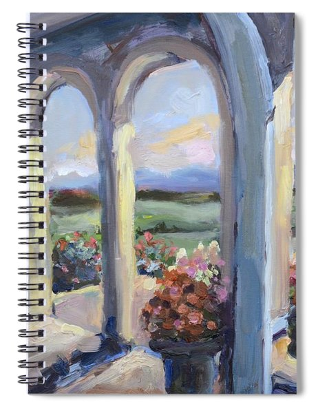 Crosskeys Vineyards In Virginia Spiral Notebook