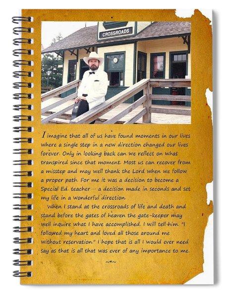 Crossroads 1 Spiral Notebook