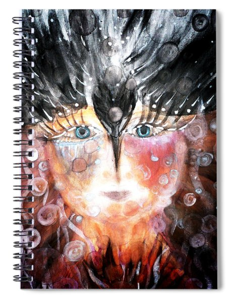 Crow Child Spiral Notebook