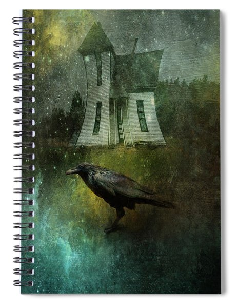 Crow House Spiral Notebook