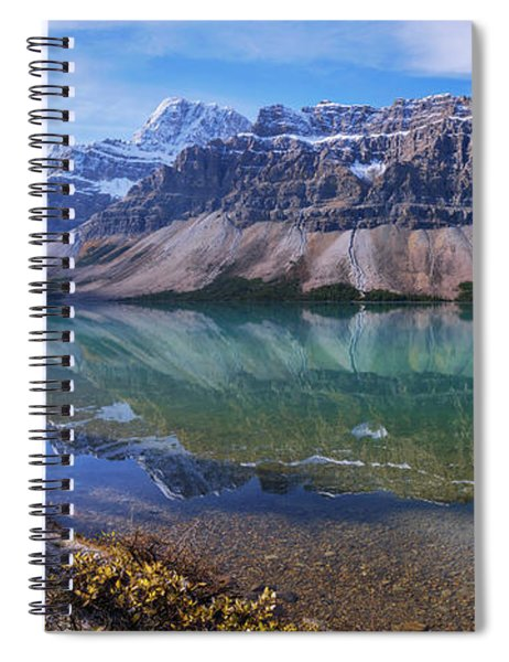 Crowfoot Reflection Spiral Notebook