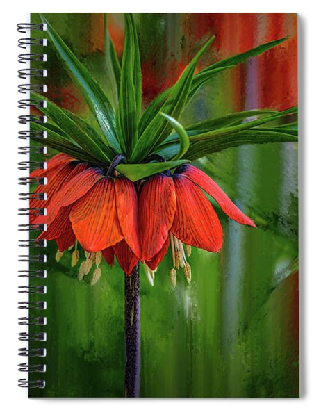 Crown-imperial Abstract #h5 Spiral Notebook