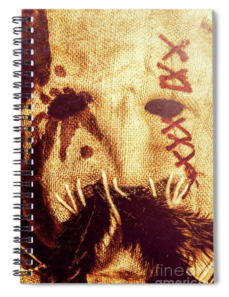 Crows For The Eating Spiral Notebook